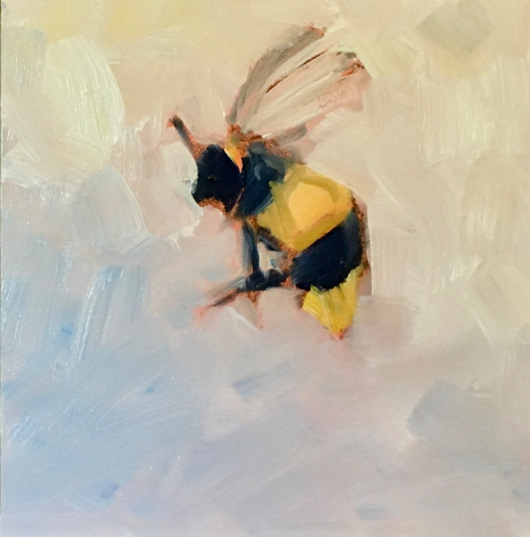 Bees, bee painting, honey bee,